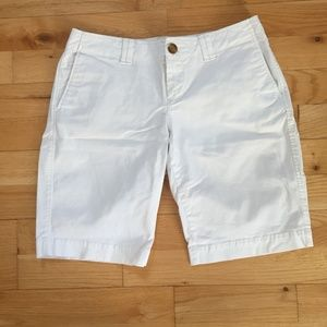 Spring is coming!  White shorts needed!